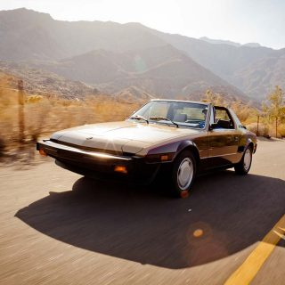 Bertone X1/9: Fit for a King