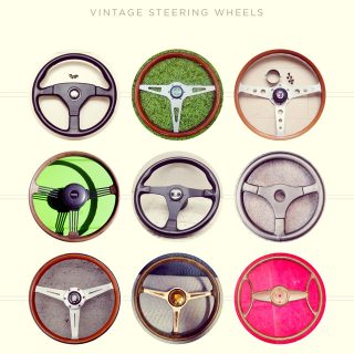 A Search For The Best Vintage Steering Wheels