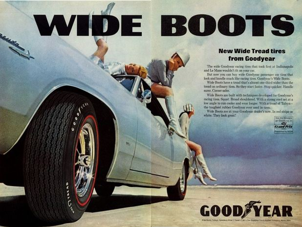 goodyears  idea  wide tires narrows  eyes petrolicious