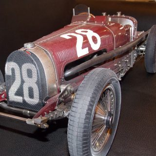 Hand-built Bugatti T59 Gives Endless Delight
