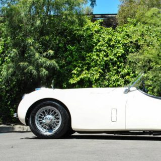 Snag a Historic XK120 in Iconic Colors for Summer Motoring