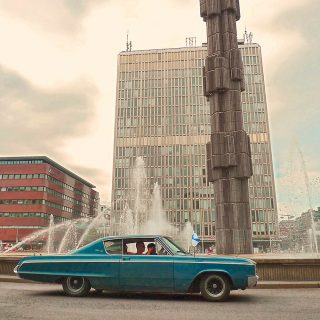 Vintage American Muscle Thrives in Modern-day Sweden