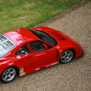 Owner Restores King of Ferraris, an F40 LM