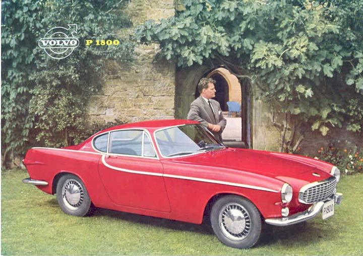 The Volvo P1800 Was the Volvo Sports Car that Wasn't • Petrolicious