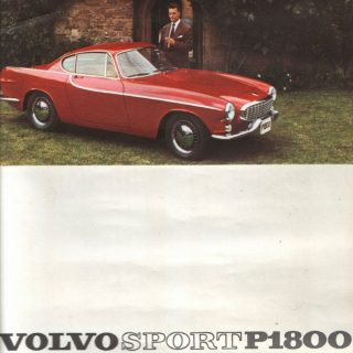 The Volvo P1800 Was the Volvo Sports Car that Wasn't