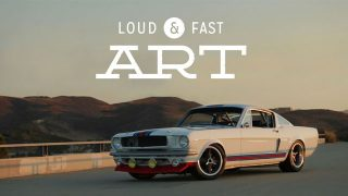 The Martini Mustang Is Loud & Fast Art