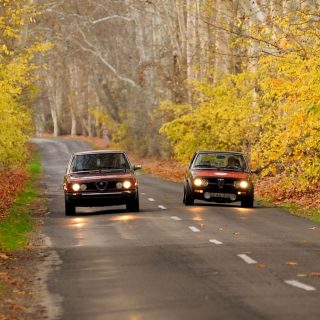 Experience A Drive in Hungary with Four Classic Alfa Romeos