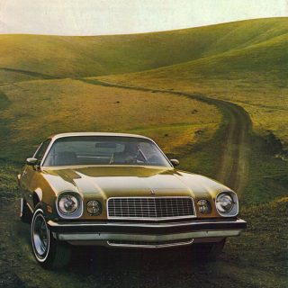 Vintage Camaro Advertising Oozes Performance & Confidence