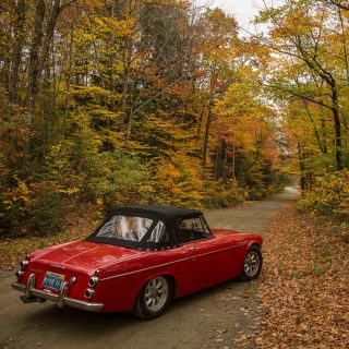 Owner Tours USA on His Datsun Roadster Road Trip