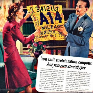 WWII-era Gas Ration Coupons Remind Us How Lucky We Are