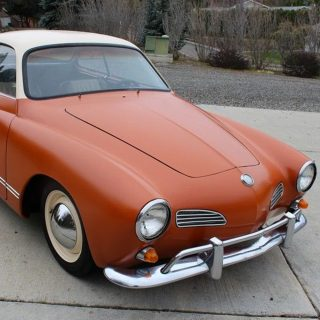 Looking for a Fun, Simple Driver? Check out this Karmann Ghia