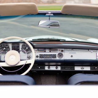 This 1966 Mercedes SL is an Incredibly Original 'Pagoda'