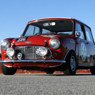 Austin Mini Rally Car Finds New Life as Daily Driver