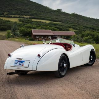 Colorado Summers Are Perfect for the Family Jaguar Roadster