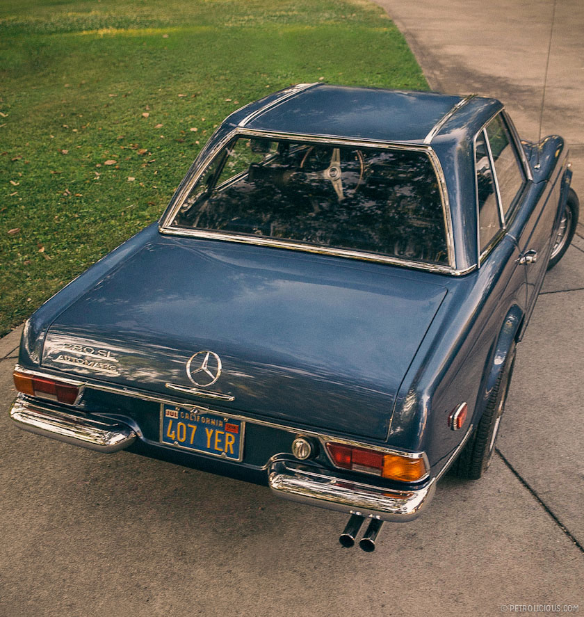 Why the mercedes benz 280sl pagoda is collectable for Mercedes benz 280sl pagoda