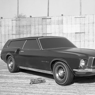 The Mustang Shooting Brake That Never Was