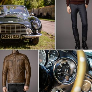 Belstaff and Aston Martin are a Sublime Pairing