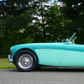 Enjoy All the Colors of This Austin-Healey
