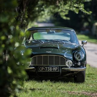 Elegant Aston Martin DB6 Designed for Speed
