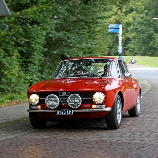 This Alfa Romeo is a Caged Beast