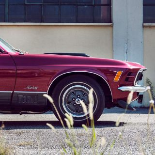 In Italy, This Mustang is a Four Wheel Dream