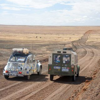 Discovering the Outback in a Citroën 2CV