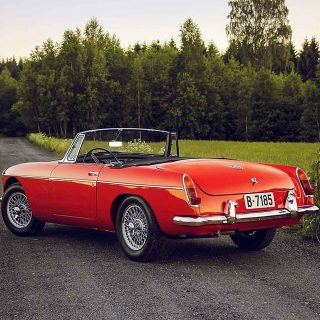 The Story of an Early MGB in a Fascinating Place