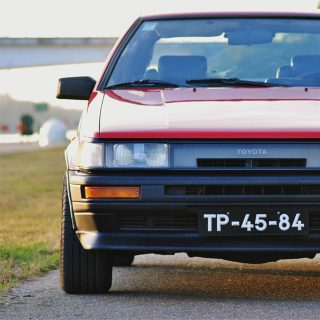 This Toyota AE86 Practically Lives At A Race Track