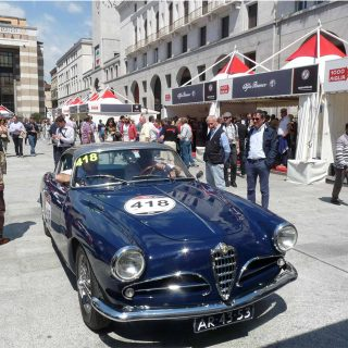 What Can a Spectator See at the Mille Miglia?