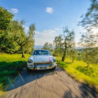Even The MGB GT Looks Like A Million Bucks In Italy