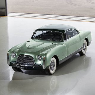 This Is A Stunning Coachbuilt Ghia With Surprising American Roots