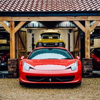 This Dream Garage Might Just Be The Best Mix Of Old And New