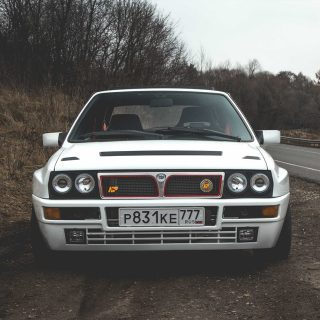 This Lancia Delta Integrale Prowls Russia's Backroads