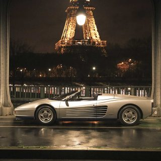 A Night In Paris With The Only Real Ferrari Testarossa Spider