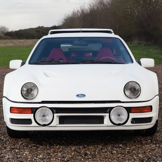 This Ford RS200 Evolution Is Factory Fresh, Fully For Sale