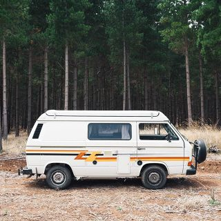 These Are Brochure Photos For Life With A Classic Volkswagen T3 Camper Van