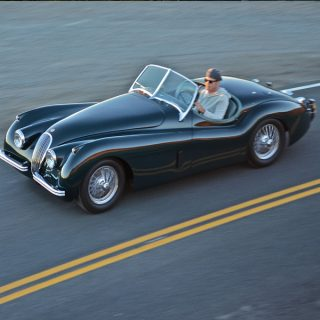This Jaguar XK120 Is All About The Challenge Of Driving Well