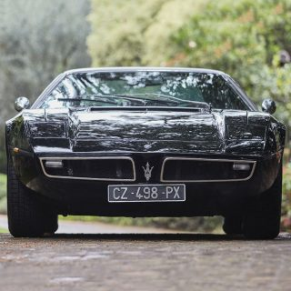 A Stylish And Stealthy Maserati Bora Is The '70s Supercar You've Been Searching For