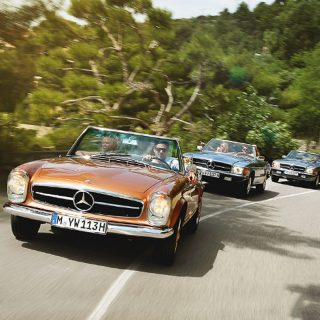 Mercedes-Benz Classic Will Now Rent You An SL For Your Next Vacation