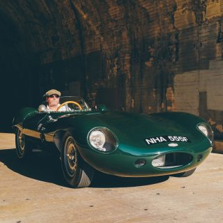 This Jaguar D-Type Lynx Recreation Is My Personal Dream Car