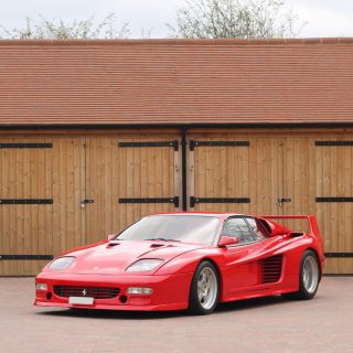 The Most Extreme '80s Supercar Must Be A Ferrari Tuned By Koenig