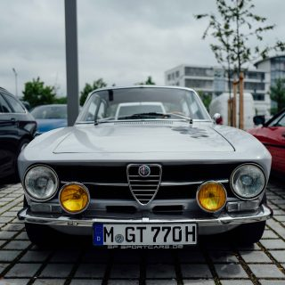 Street Find: This Alfa Romeo GTV Is Sitting Pretty In BMW Country