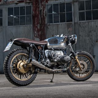 This BMW R100S Motorcycle Is A Subtly Sexy Tourer
