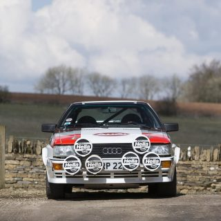 This Factory-Built Audi Quattro Rally Car Is Also An Insane Road Car