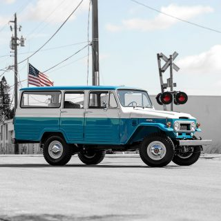 How Often Do You See A Toyota Land Cruiser FJ45LV Restored By Nut And Bolt?