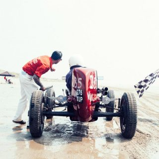 The Pendine Sands Are Where Drivers Go To Challenge Hot Rod History
