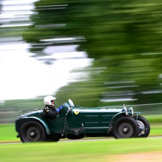 Hillclimbing at Chateau Impney is a Heaven of Smoke and Oil