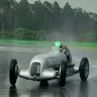 All Modern F1 Drivers Should Be Forced To Race Classics In The Rain