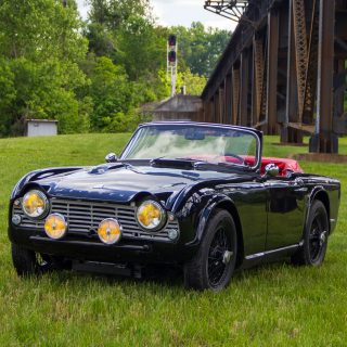 This Triumph  TR4 Survived A Legendary Road Trip
