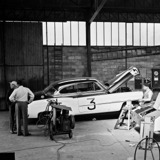 These 10 Period Race Shop Photos Have Just Been Unearthed